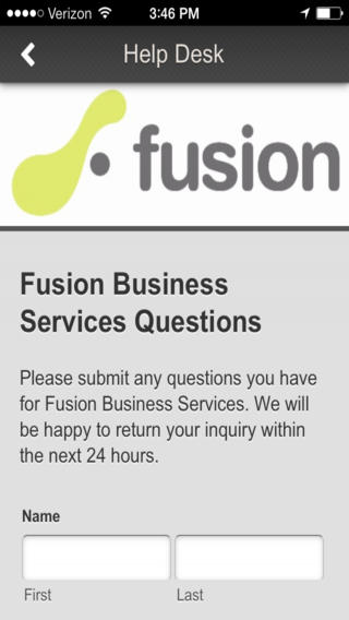 Fusion Business Services