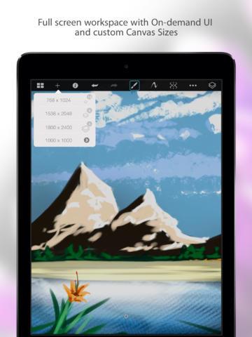 SketchBook Pro for iPad  Screenshot