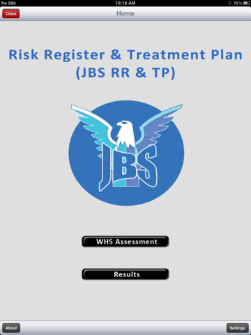 JBS Risk Register Treatment Plan Pro