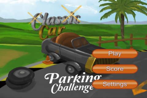 Classic Car Parking Challenge