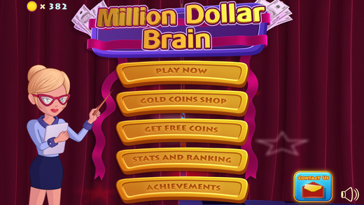 $100 Trivia Challenge - Million Dollar Brain