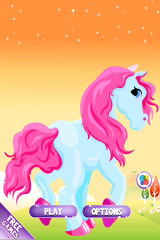 Happy Little Pony Jump Dash To The Magic Castle And Rescue The Princess FREE screenshot 1