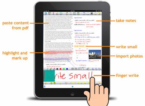 epiNote HD Plus iPad Screenshot 2