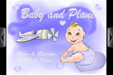 Baby and Plane - An animated ebook for kids