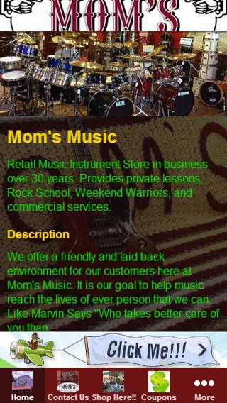 Mom's Music App 1.0