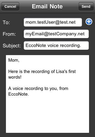 EccoNote Pro Recorder