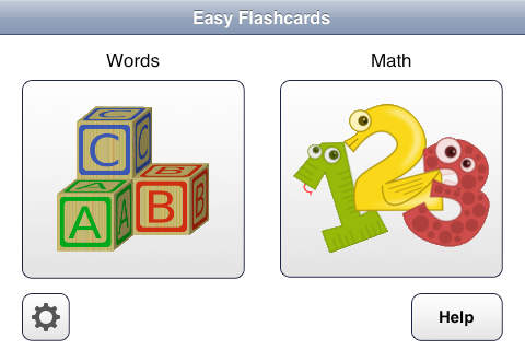 Easy Flashcards for iPhone