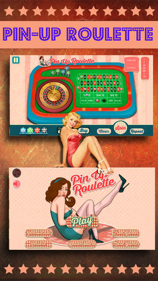 American Pin-up Roulette — Free Vegas Strip Casino Game