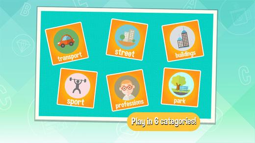 Word Catcher: City