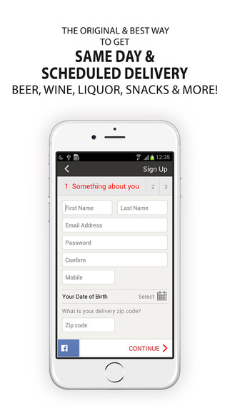 BeerRightNow.com - Beer Liquor Wine Delivered. Right Now