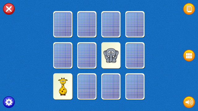 Matching Pairs - Card match game for kids of all ages