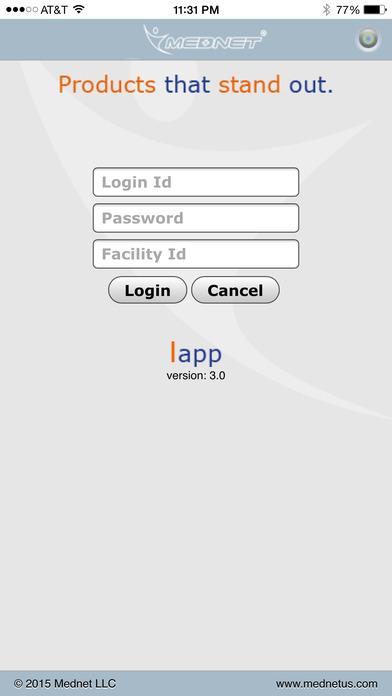 Mednet iPhone Screenshot 1