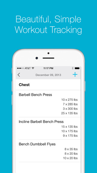 Liftium - Workout Tracker for Weight Lifting and Strength Training