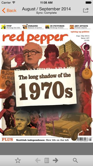 Red Pepper: Spicing Up Politics