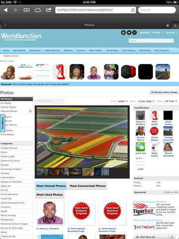 Worldjunction for iPad