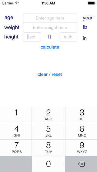 my Body Mass Index iPhone Screenshot 5