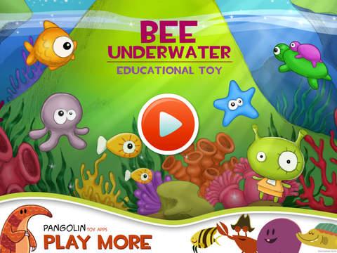 Bee Underwater