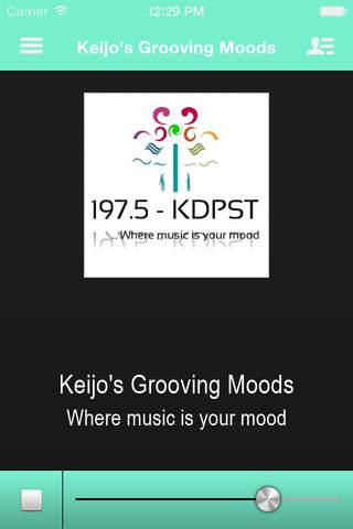 Keijo Grooving Moods screenshot 1