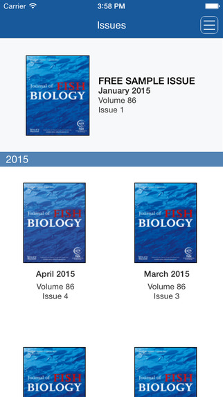 Journal of Fish Biology