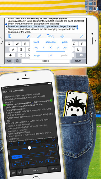 Textkraft Pocket Lite - Write text research correc