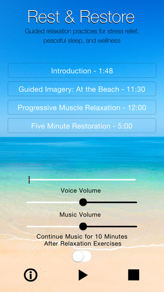 Rest and Restore - Guided Relaxation Practices for Stress Relief Peaceful Sleep and Wellness