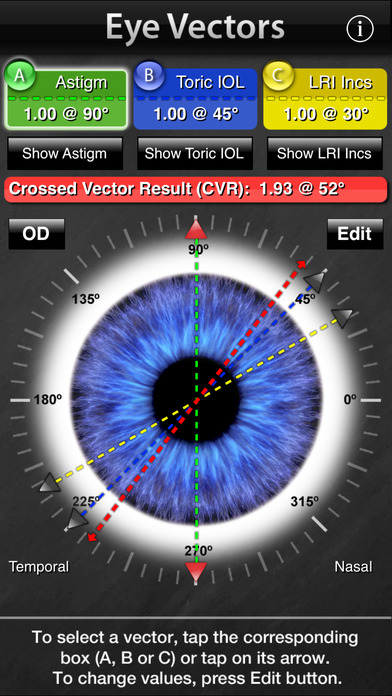 Eye Vectors iPhone Screenshot 1