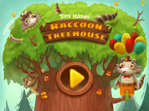 TinyHands Raccoon Treehouse - Full Version Screenshots
