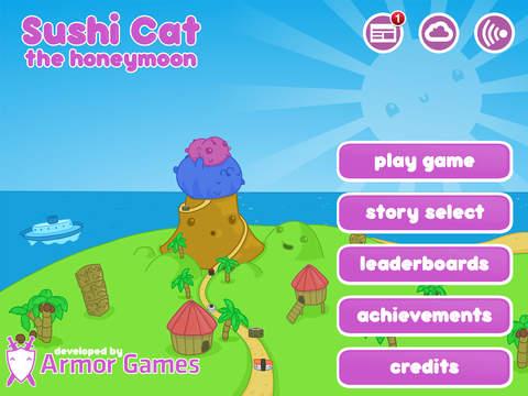 Sushi Cat iPad Screenshot 3