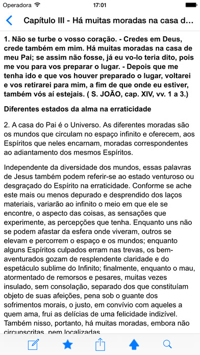 Evangelho Segundo o Espiritismo iPhone Screenshot 2
