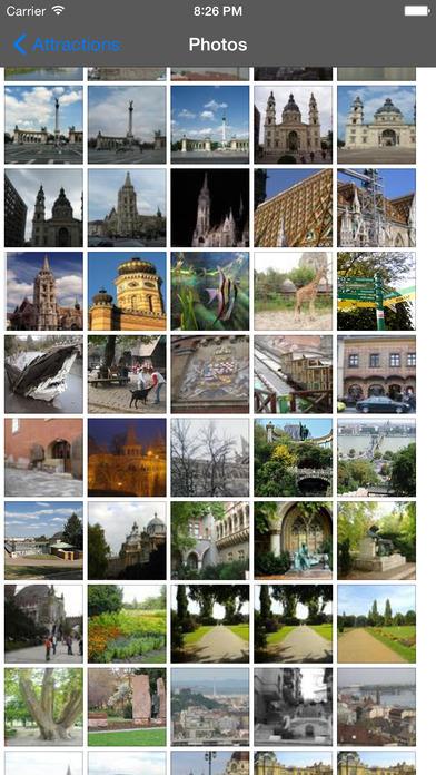 Budapest Travel Guide Offline iPhone Screenshot 3
