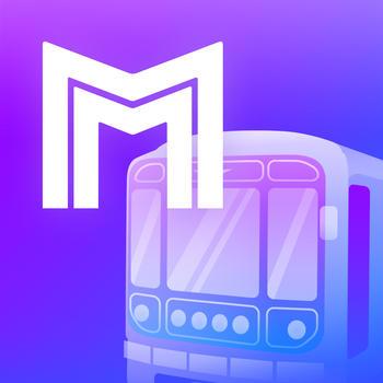 Metro Moscow Subway LOGO-APP點子