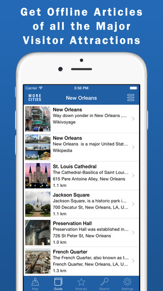 New Orleans Travel Guide Offline Map