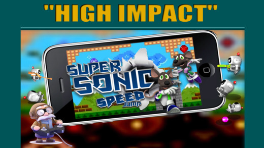 Arcade Super Sonic Retro Run - Uber Fun Action Adv