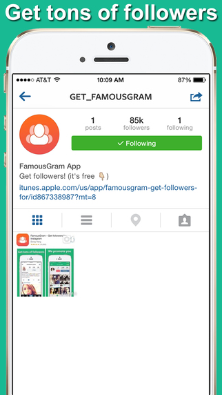 Famousgram - Get followers and likes for Instagram