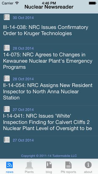 Nuclear Newsreader