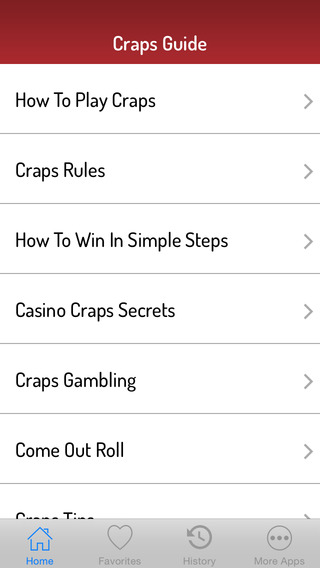 Craps Guide - Best Video Guide
