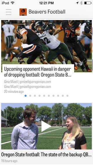 OregonLive: Oregon State Beavers Football News