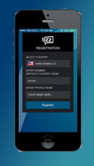 Bzz for iPhone