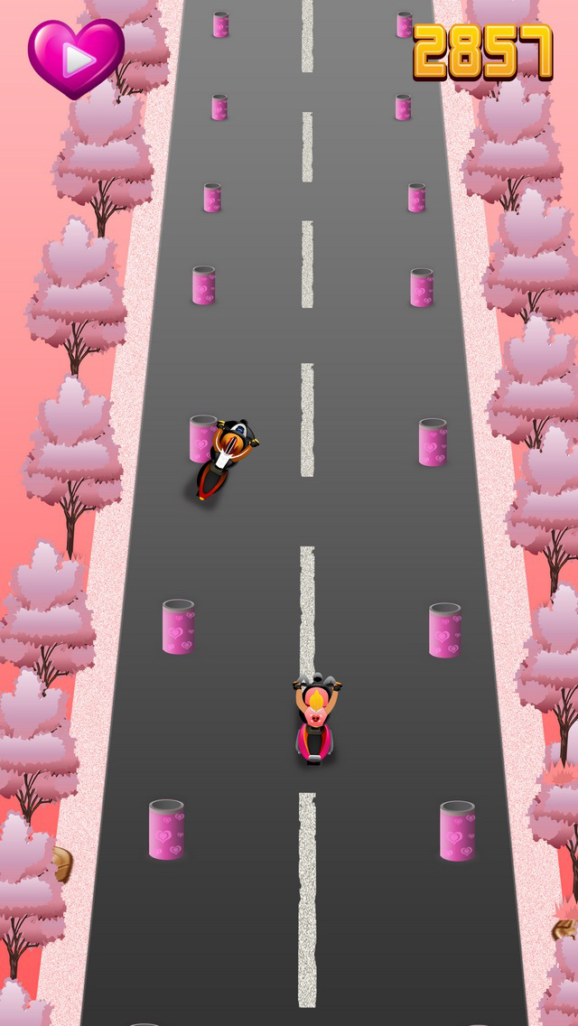 Mr. Cupid Bike Stunt - The Valentine Bike Rider Pro