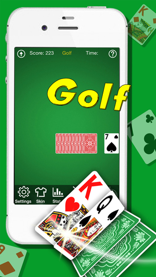 Golf Solitaire Pro - Patience Card Game