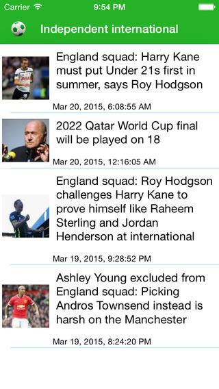 World Football - Latest News