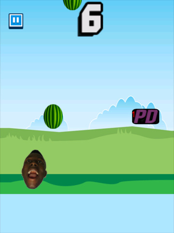 Screenshots of Melon Drop - Jerry Purpdrank's Arcade for iPad