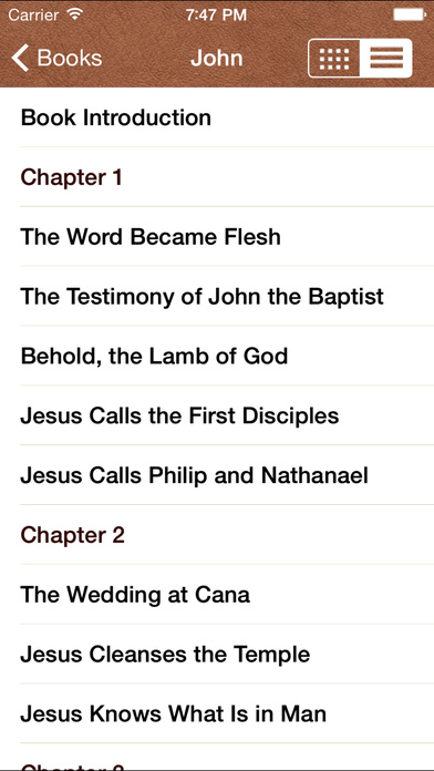 The Reformation Study Bible iPhone Screenshot 2