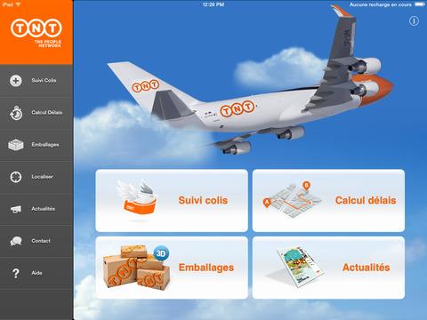 Suivi Colis TNT iPad Screenshot 1