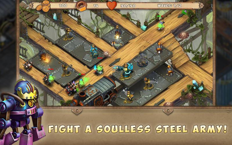 Iron Heart: Steam Tower TD - 钢铁雄心:蒸汽之塔[iOS、Mac]丨反斗限免