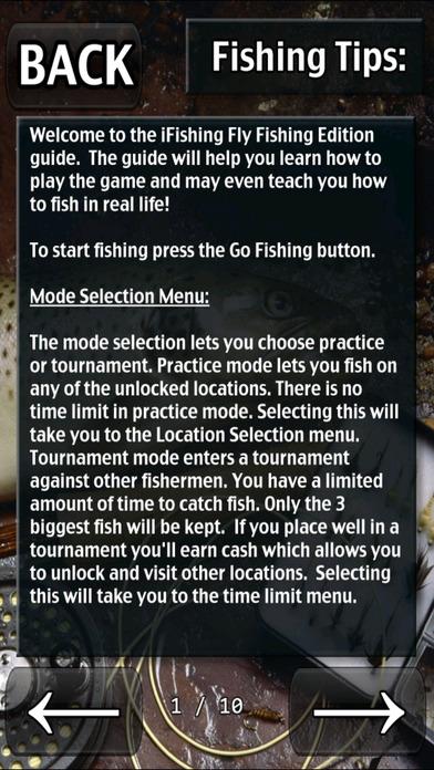 i Fishing Fly Fishing Edition iPhone Screenshot 5
