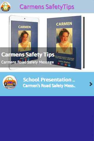 Carmens Road Safety Presentation screenshot 2