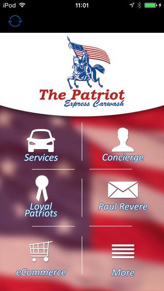 Patriot Express Car Wash