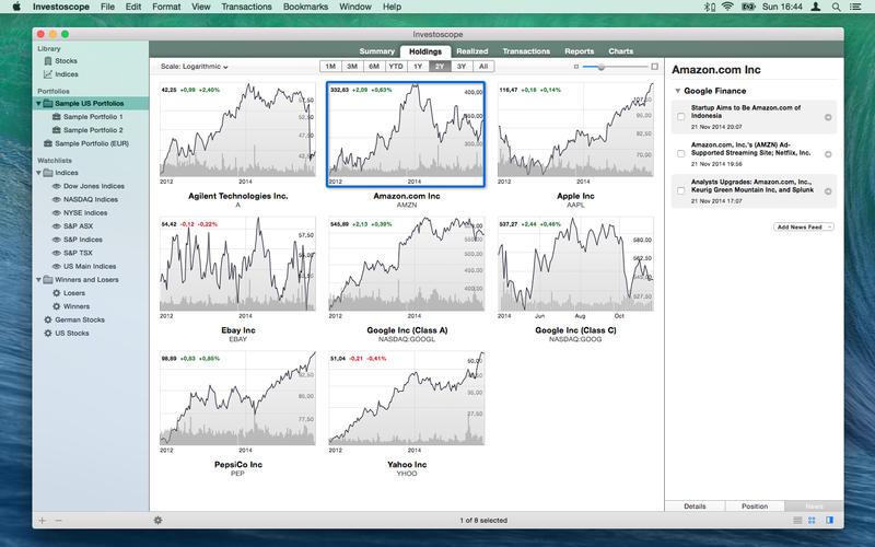 Investoscope Screenshot - 2