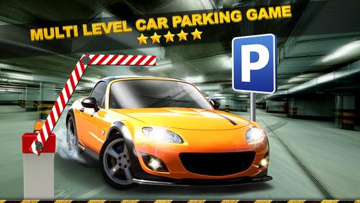 Multi Level Car Parking Simulator Game - Real Life Driving Test Run Sim Racing Games